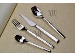骑士yayoda德国品牌西餐刀叉不锈钢刀叉勺酒店高档刀叉餐具