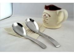 平底勺汤勺勺子批发不锈钢勺子汤匙婴儿勺中式勺子韩式汤勺工厂