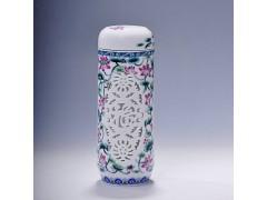 创意设计新品陶瓷保温杯_天聚景陶瓷