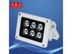 供应6灯平安城市补光灯,LED红外监控补光灯