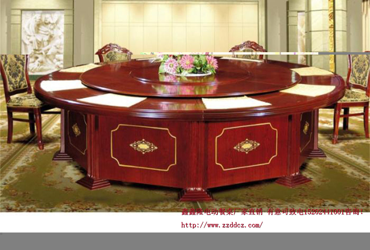 郑州鑫鑫隆老榆木餐桌椅 雕刻精美高端大气 订购热卖