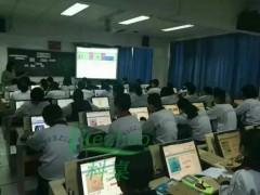 多功能翻转电脑桌 学校培训桌 单人课桌翻转桌