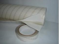 苏州 夹芯PET透明双面胶 夹两层纸透明双面胶