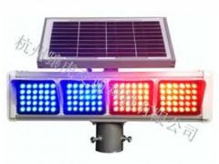 公路太阳能爆闪灯 led双面警示灯生产厂家