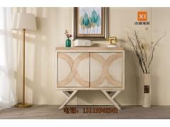 美式彩绘桌-铁艺家具厂