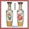 景德镇陶瓷大花瓶牡丹花花瓶 欧式客厅装饰1.2米创意