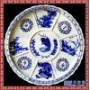 直径一米海鲜陶瓷盘 超大号景德镇青花陶瓷大盘