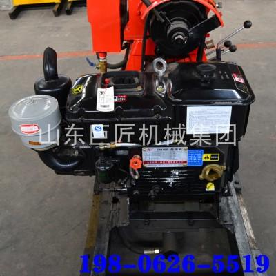 巨匠造130型液压打井机全自动钻井机可移机液压水井钻机