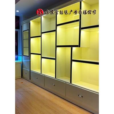 南京办公室展柜 企业展厅展柜制作