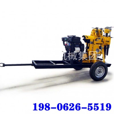 XYX-130轮式液压钻机水文工程地质勘探钻机更方便移动