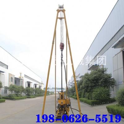 巨匠集团移动式液压水井钻机可打200米