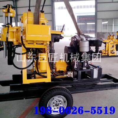 XYX-200轮式水井钻机200米民用水井钻机打井机现货供应