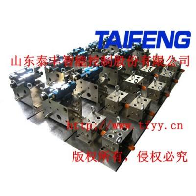 泰丰液压厂家专业定做各种液压阀块满足客户各种需求