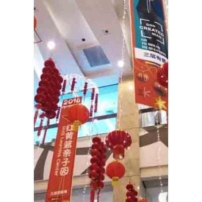 北京商场饰品条幅的电动遥控提升机升降设备葫芦