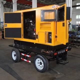 500A移动式柴油发电电焊两用机户外作业