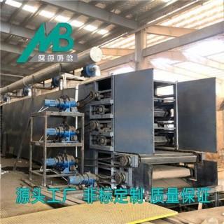 带式滤饼干燥设备 干燥速率高 产量大