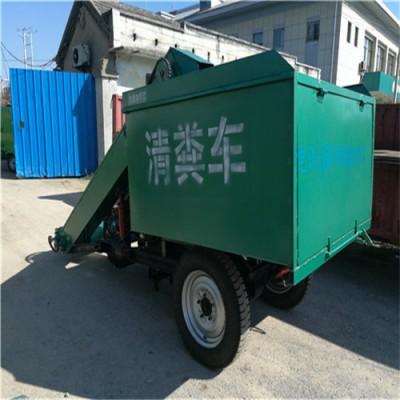 牛场自动铲粪车 18马力自走式清粪车厂家供应