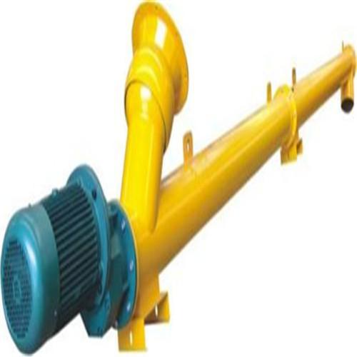 不锈钢管式螺旋输送机 小型粮食蛟龙提升机厂家定制