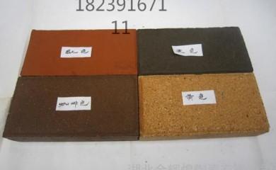 小区园林专用透水砖 山东威海陶瓷颗粒透水砖供应6