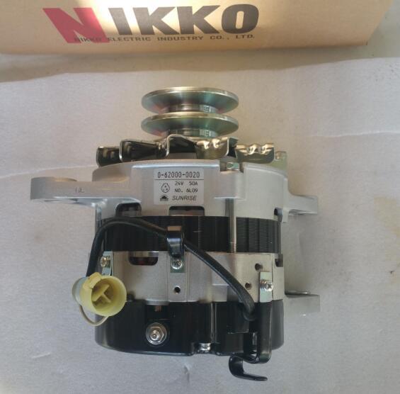 0-62000-0020五十铃10PE1发电机