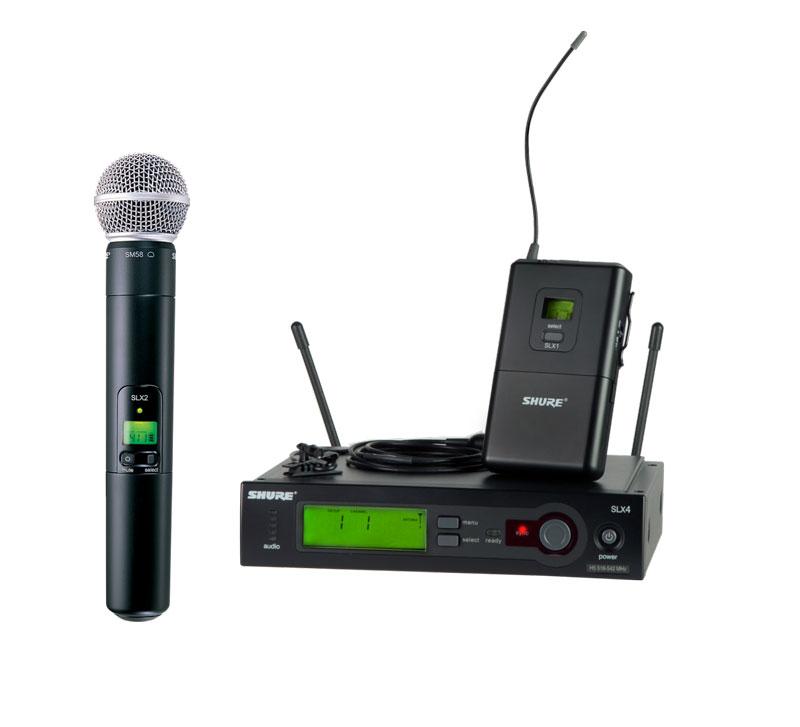 SHURE SLX系列|舒尔无线话筒-声海创新销售批发