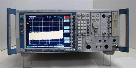 回收FSQ26频谱分析仪