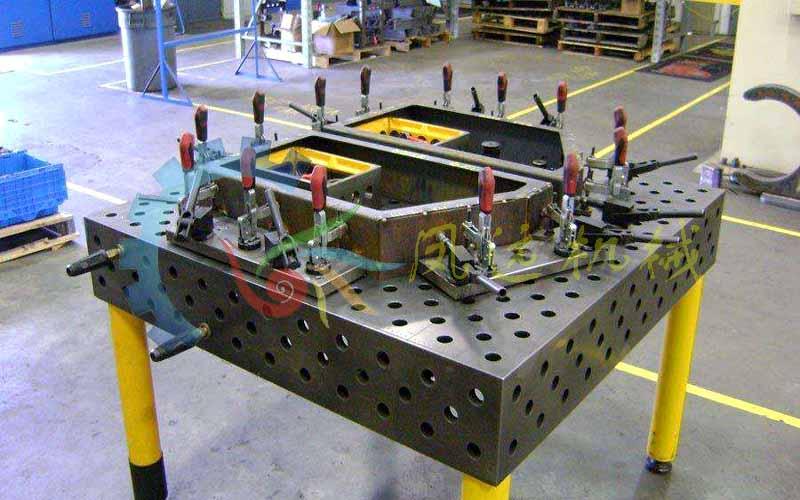 厂家热卖三维柔性焊接工装平台-焊接工装平台  三维平台