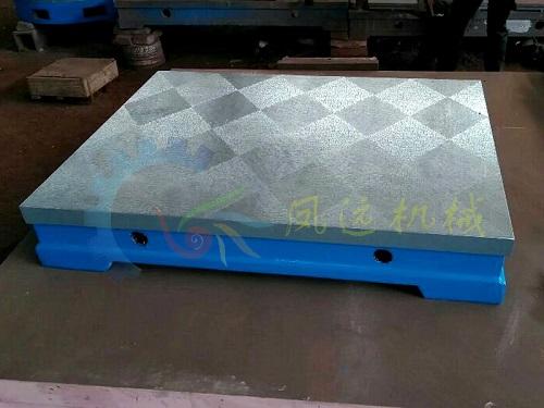 现货供应铸铁刮研平台 刮研平板 铲刮平台 刮研平台厂
