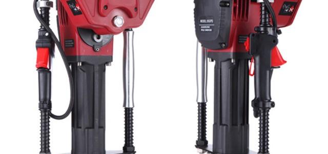 防汛打桩机小型植桩机 手持式防汛抢险汽油打桩机