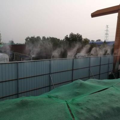 昆明工地围挡喷淋喷雾厂家-蓝森环保设备真诚为您服务