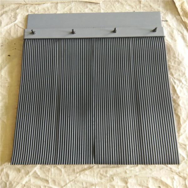 电厂煤矿专用挡尘帘 规格250*6橡胶防尘帘 层数定制