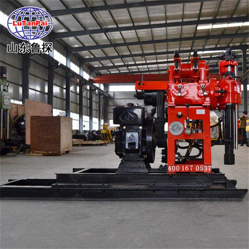 可移机的液压岩芯钻机HZ-130YY型百米勘察钻机 操作简单
