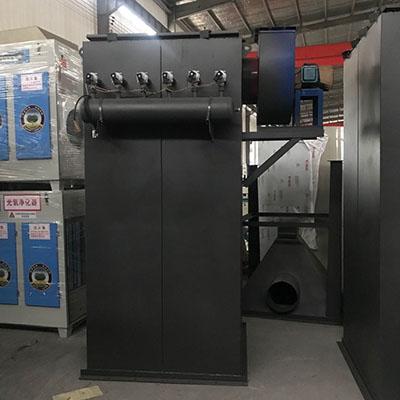 单机脉冲式布袋除尘器 钢厂粉尘收集废气处理设备