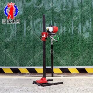 现货供应小型轻便背包岩心钻机20米浅层轻型取芯钻机