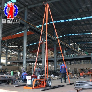 巨匠集团30型工程勘察钻机 浅层基础场地调查取样钻机
