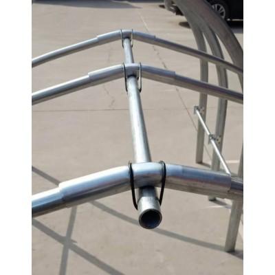 河北厂家供应 大棚连接管 温室骨架直连接管