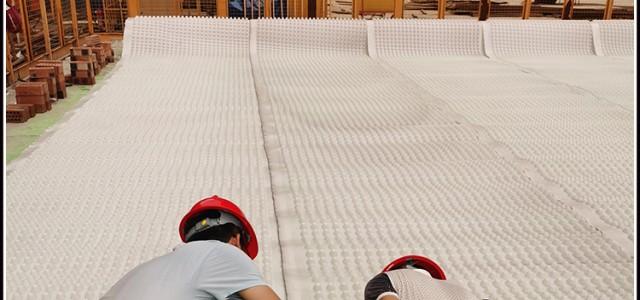 平顶山塑料防护板 地下室滤水板送货上门