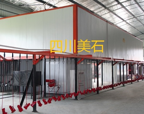 四川成都绵阳德阳广汉达州遂宁南充广元喷漆烤漆生产线设备