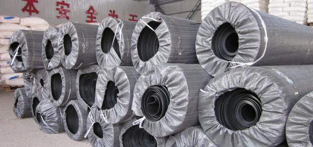 呼和浩特1.0mm防渗土工膜 化工厂污水池防渗膜/防水板