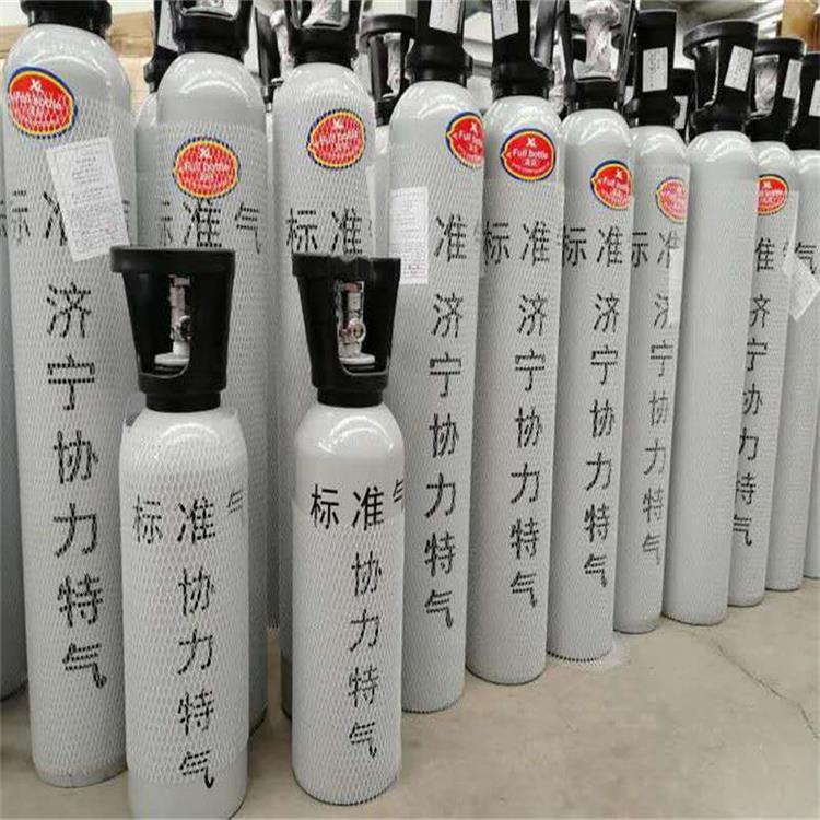 济宁协力供应河北唐山环保标气 氮中二氧化硫标准气订购电话