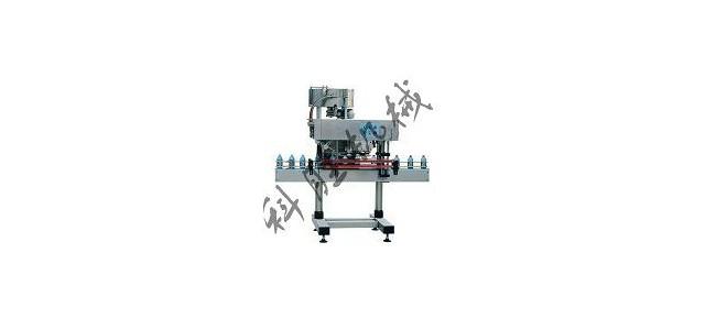 邯郸科胜自动直列式旋盖机|润滑油旋盖机|河北旋盖机