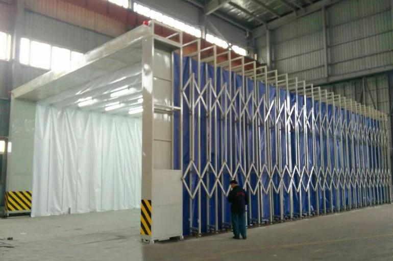 东北移动式伸缩喷漆房购买 就选择欣恒工程设备