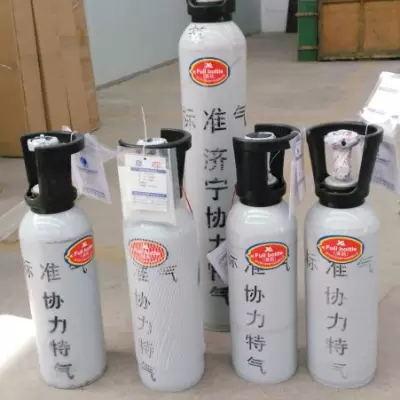 济宁协力供应山东威海检测站用零气 4升氮中氧标准气报价