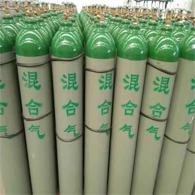 济宁协力厂价供应枣庄市氩中氢混合气体 混合气订购咨询电话