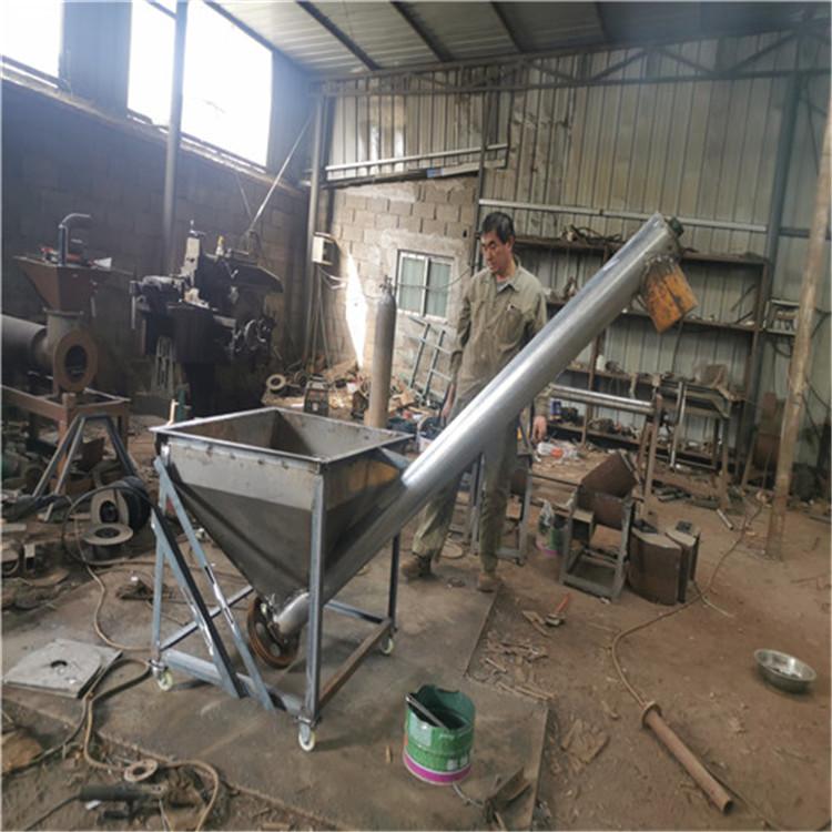 玉米大豆绞龙输送机 管式螺旋输送机