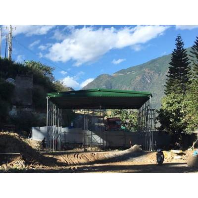 专业生产安装雨棚遮阳棚阳台雨篷户外推拉活动篷