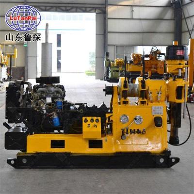 鲁探大型XY-3液压岩心钻机 600米高转速地质勘探钻机