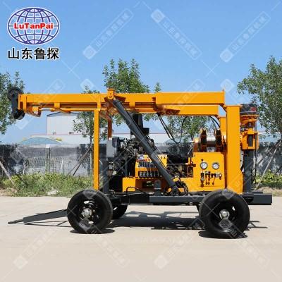 大型全自动岩石取样钻机 四轮拖拽式地质工程勘察钻机