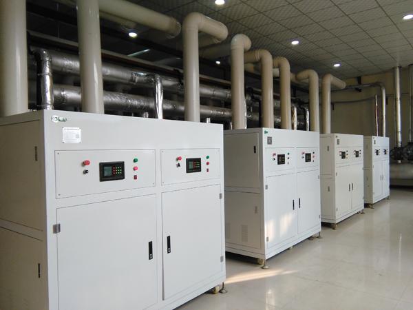 操作燃气低氮锅炉的四个步骤