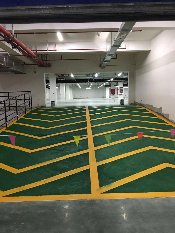 南京道路划线-地下车库防滑坡道